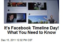 It's Facebook Timeline Day! What You Need to Know