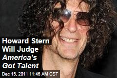 Howard Stern Will Be Judge on America's Got Talent