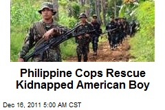 Philippine Cops Rescue Kidnapped American Boy