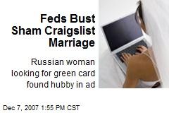 Feds Bust Sham Craigslist Marriage