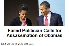 Tea Partier Calls for Assassination of Obama Family