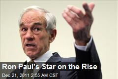Ron Paul's Star on the Rise