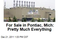 For Sale in Pontiac, Michigan: Pretty Much Everything