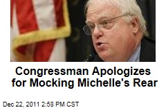 Congressman Jim Sensenbrenner Apologizes for Mocking Michelle Obama's Butt