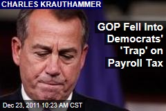 Charles Krauthammer: GOP Fell Into Democrats' Trap on Payroll Tax
