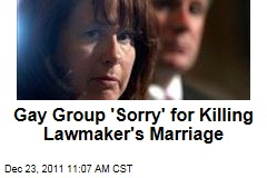 Gay Group 'Sorry' for Ruining Minnesota Lawmaker Amy Koch's Marriage