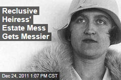 Reclusive Heiress Huguette Clark's Estate Mess Gets Messier