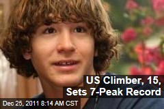 Jordan Romero, 15-Year-Old Mountain Climber, Sets 7-Peak Record