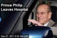 Prince Philip Leaves Hospital
