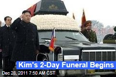 2-Day Kim Jong Il Funeral Begins