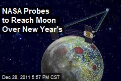 NASA Probes to Reach Moon Over New Year's