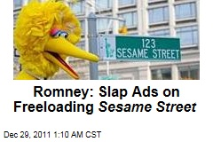 Mitt Romney: Slap Ads on Sesame Street