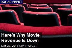 Here's Why Movie Revenue Is Down