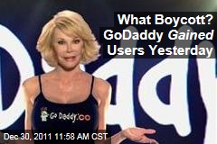 Dump GoDaddy Day? GoDaddy Actually Gained Users on Day of SOPA Boycott