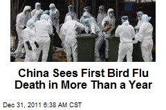 China Sees First Bird Flu Death in More Than a Year