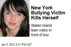 Staten Island Bullying Victim Amanda Cummings Commits Suicide