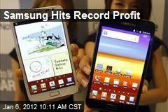 Samsung Hits Record Profit