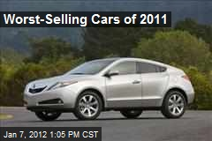 Worst-Selling Cars of 2011