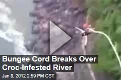 Australian Tourist Plummets Into African River When Bungee Cord Breaks
