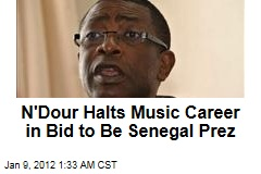 Youssou N'Dour Ready to Be Senegal Prez