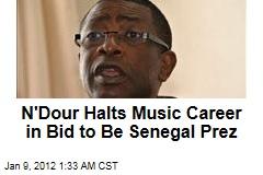 Youssou N'Dour Ready to Be Senegal Prez