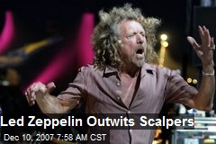 Led Zeppelin Outwits Scalpers