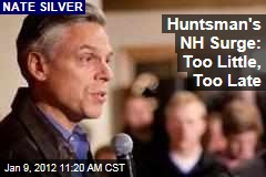 Jon Huntsman Sees Hope in New Hampshire: Nate Silver