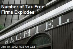 Number of Tax-Free Firms Zoom