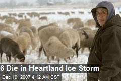 6 Die in Heartland Ice Storm