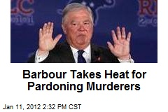 Barbour Takes Heat for Pardoning Murderers