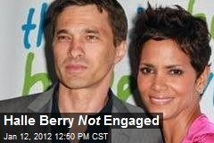 Halle Berry Engaged