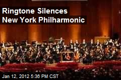 Ringtone Silences New York Philharmonic