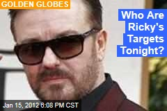 Ricky Gervais Promises Same Tone in This Year's Golden Globes