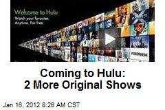 Coming to Hulu: 2 More Original Shows