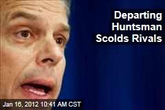 Jon Huntsman Suspends Campaign, Endorses Mitt Romney
