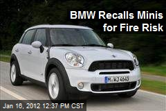 BMW Recalls Minis for Fire Risk