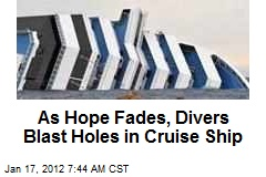 Hope Fades for Cruise Ship Missing