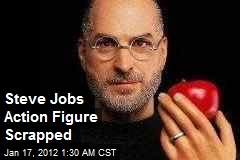Steve Jobs Action Figure Scrapped