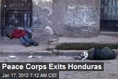 Peace Corps Exits Honduras