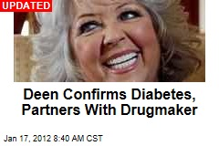 Paula Deen Confirms Type 2 Diabetes, Partners With Drugmaker Novartis