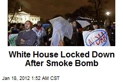 White House Locked Down After Smoke Bomb