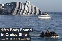 12th Body Found in Cruise Ship