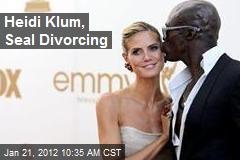 Heidi Klum, Seal Divorcing