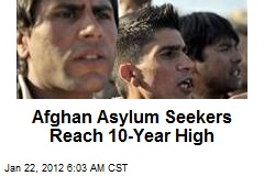 Afghan Asylum Seekers Reach 10-Year High