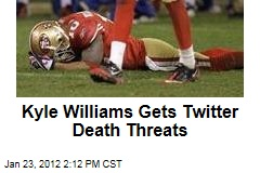 Kyle Williams Gets Twitter Death Threats After Screw Ups Cost San Francisco 49ers the NFC Championship