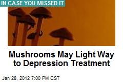 Trippy Mushrooms May Light Way to Depression Treatment