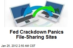Fed Crackdown Panics File-Sharing Sites