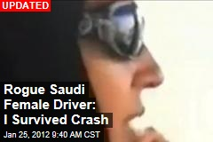 Rogue Saudi Female Driver Killed in Crash