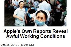 Apple's Own Reports Reveal Awful Working Conditions