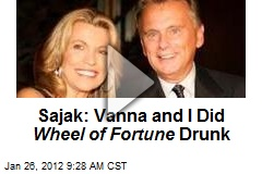 Sajak: Vanna and I Did Wheel of Fortune Drunk